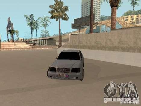 Mercedes-Benz E420 AMG для GTA San Andreas вид справа