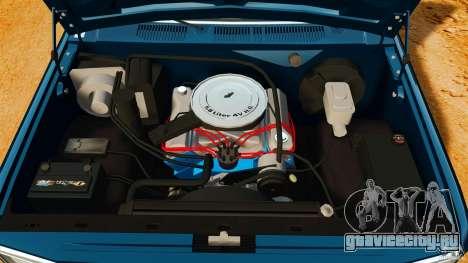 Ford Bronco 1980 для GTA 4 вид сзади
