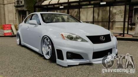 Lexus IS F 2009 для GTA 4