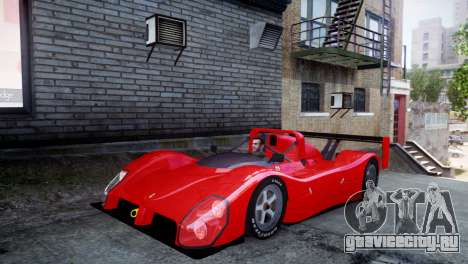 Ferrari 333 SP 1994 для GTA 4 вид слева