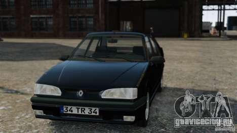 Renault 19 RL для GTA 4 вид справа