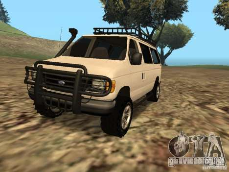 Ford E-150 OffRoad для GTA San Andreas