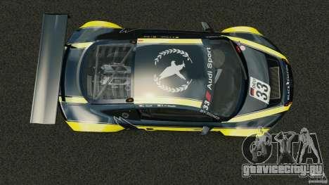 Audi R8 LMS для GTA 4 вид справа
