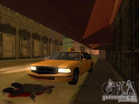 Кровь на машине v2 для GTA San Andreas четвёртый скриншот