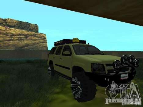 Chevrolet Tahoe Off Road для GTA San Andreas вид справа