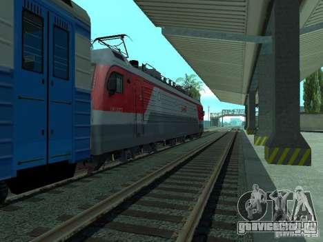 ЭП1М-700 РЖД для GTA San Andreas вид сзади слева