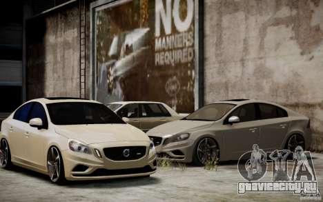 Volvo S60 R-Design 2011 для GTA 4 вид сбоку