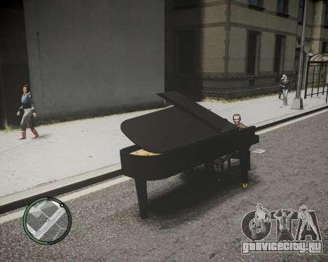 Crazy Piano для GTA 4 вид сзади слева