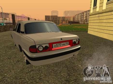 ГАЗ Волга 3110 для GTA San Andreas вид справа