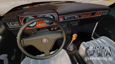 ГАЗ-3102 ФБР для GTA 4 вид изнутри