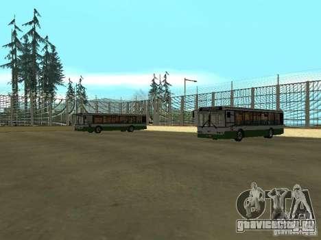 4-ый автобусный парк v1.0 для GTA San Andreas третий скриншот