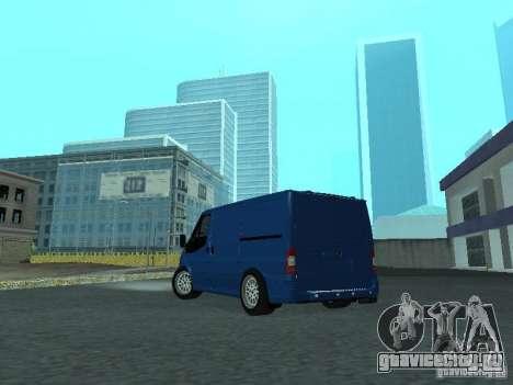 Ford Transit Sport 2011 для GTA San Andreas вид справа