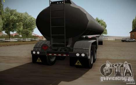 Прицеп от Mack Pinnacle Rawhide Edition для GTA San Andreas вид сзади слева