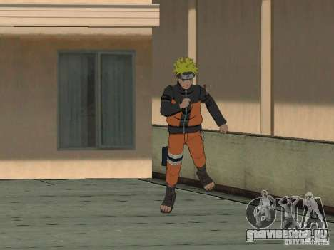 Skin Pack From Naruto для GTA San Andreas четвёртый скриншот
