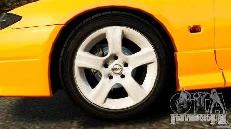 Nissan Silvia S15 Stock для GTA 4 вид сбоку