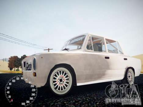 ВАЗ-2101 Drift Edition для GTA 4 вид сзади слева