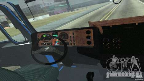 Man F2000 для GTA San Andreas вид сзади
