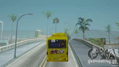 Mercedes-Benz Citaro G для GTA San Andreas вид сзади слева