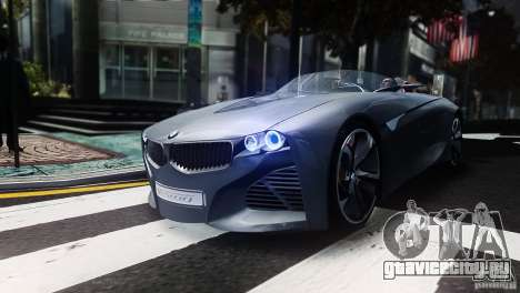 BMW Vision ConnectedDrive Concept 2011 для GTA 4