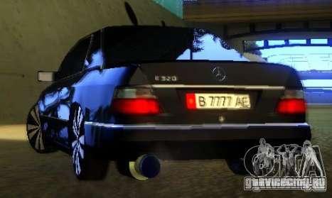 Mercedes-Benz CE 320 для GTA San Andreas вид сверху