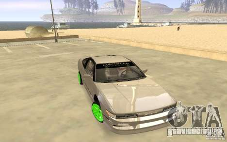 Nissan 200SX Monster Energy для GTA San Andreas вид слева