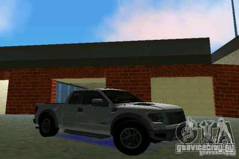 Ford F-150 SVT Raptor для GTA Vice City вид слева