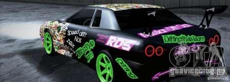 New Elegy DriftingStyleTeam для GTA San Andreas вид слева