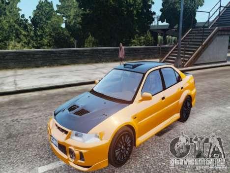 Mitsubishi Lancer Evo VI GSR для GTA 4