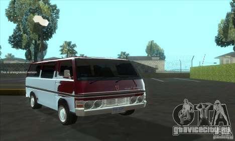 Nissan Caravan E20 для GTA San Andreas