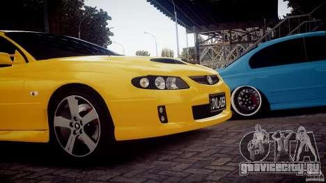 Holden Monaro для GTA 4 вид сзади слева