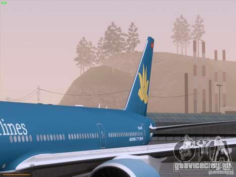 Boeing 777-2Q8ER Vietnam Airlines для GTA San Andreas салон