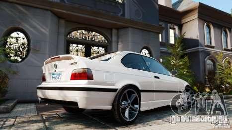 BMW M3 v2.0 для GTA 4 вид слева