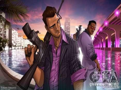 Загрузочные экраны Vice City для GTA San Andreas