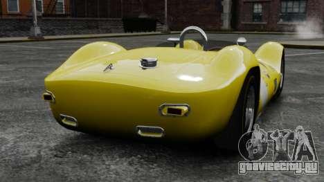 Maserati Tipo 60 Birdcage для GTA 4 вид сзади слева