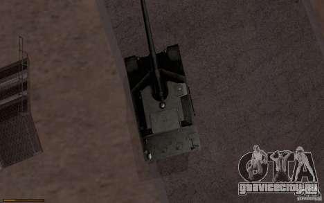 Bat. Chat. 155 SPG для GTA San Andreas вид сзади слева