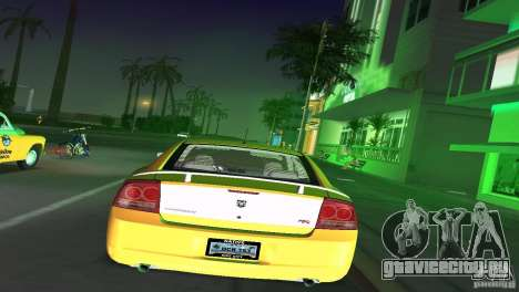Dodge Charger RT для GTA Vice City вид справа
