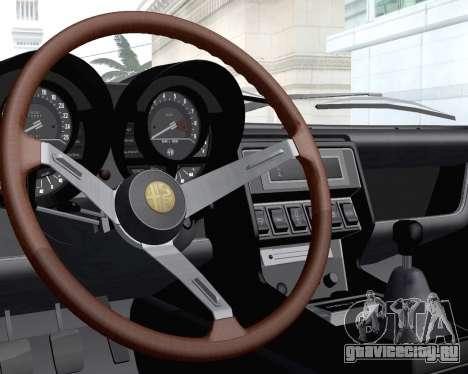Alfa Romeo Montreal 1970 для GTA San Andreas вид сбоку
