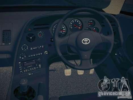 Toyota Supra VeilSide Fortune 2003 для GTA San Andreas вид изнутри