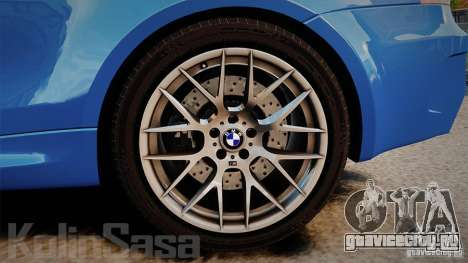 BMW 1M 2011 Carbon для GTA 4 вид сбоку