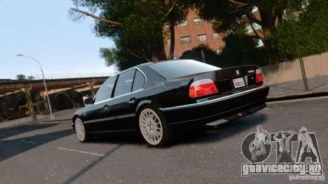BMW 740I 1998 для GTA 4 вид слева