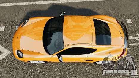Porsche Cayman R 2012 [RIV] для GTA 4 вид справа