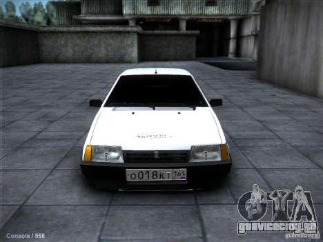 ВАЗ 2109 Ростов для GTA San Andreas вид слева