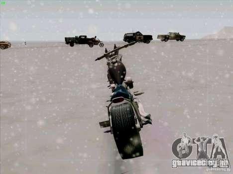 Harley для GTA San Andreas вид сзади