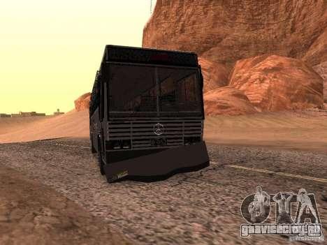 Mercedes Benz SWAT Bus для GTA San Andreas вид изнутри