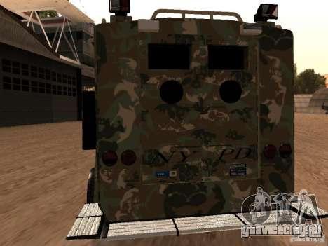 Lenco Bearcat NYPD для GTA San Andreas вид справа