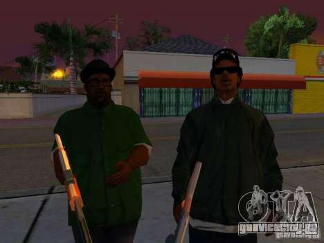 Grove Street Forever для GTA San Andreas пятый скриншот