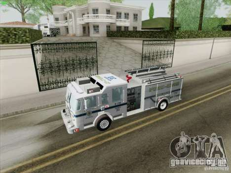 Pierce Pumpers. B.C.F.D. FIRE-EMS для GTA San Andreas двигатель