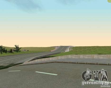 Достроенная дорога для  Криминальной России для GTA San Andreas