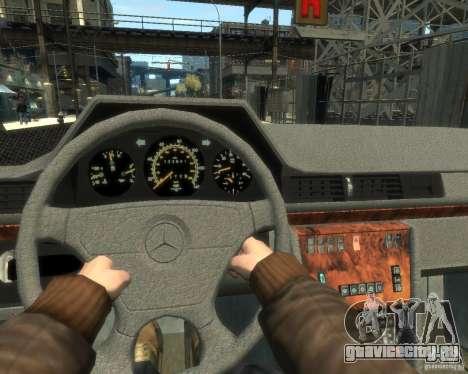 Mercedes-Benz C220 W202 для GTA 4 вид справа