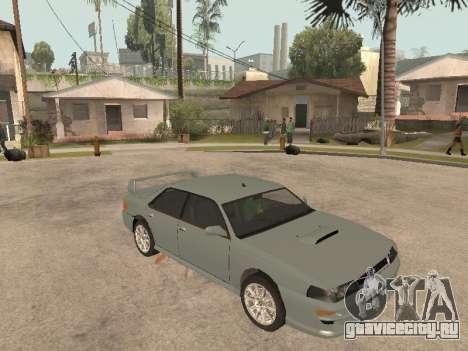 Sultan Impreza v1.0 для GTA San Andreas вид слева